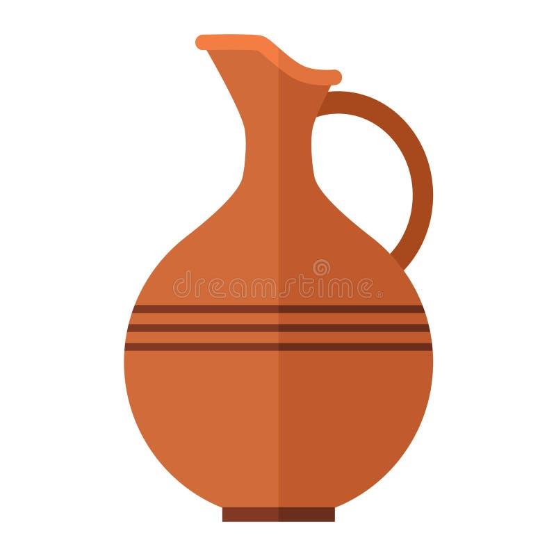 Vettore della bottiglia di vino della bevanda dell'alcool royalty illustrazione gratis