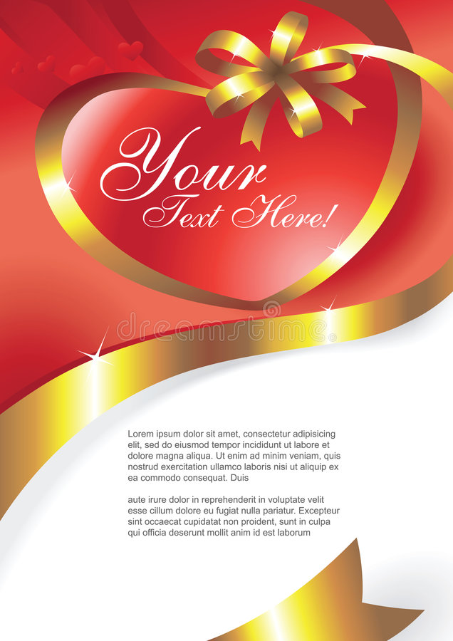 Vettore della cartolina d'auguri royalty illustrazione gratis