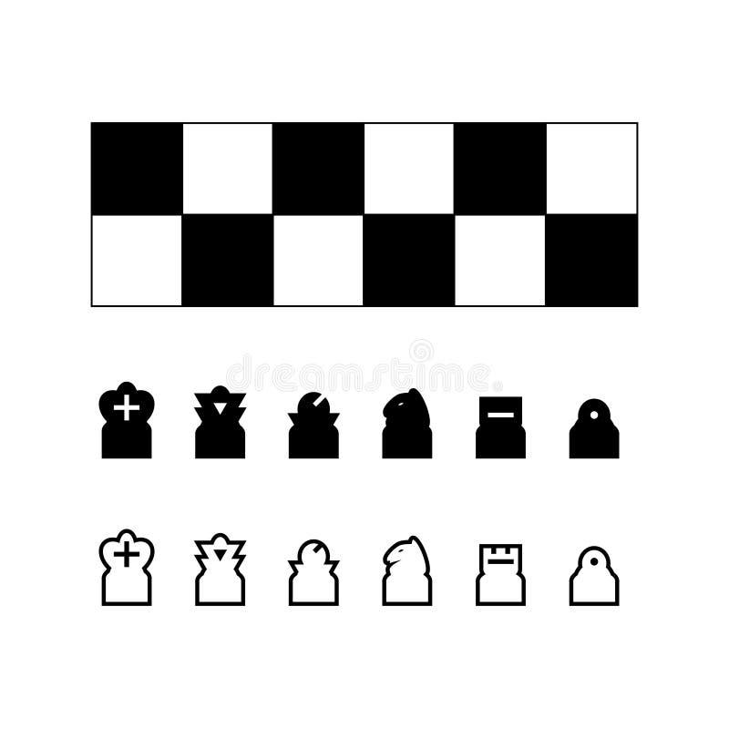Vettore della scacchiera illustrazione di stock