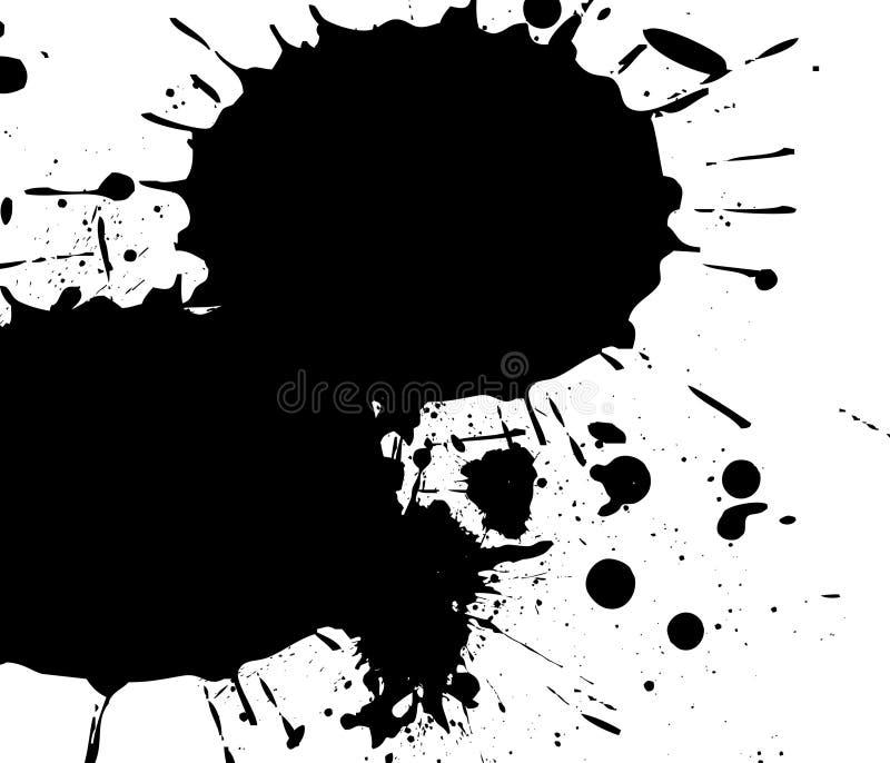 Vettore della spruzzata di Grunge royalty illustrazione gratis