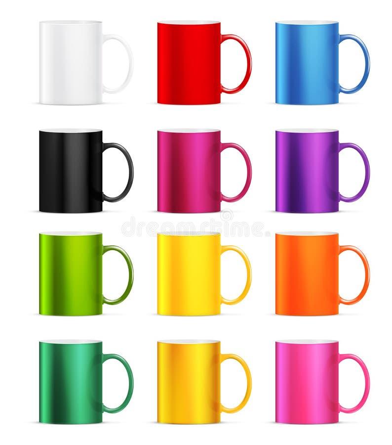Vettore della tazza illustrazione di stock
