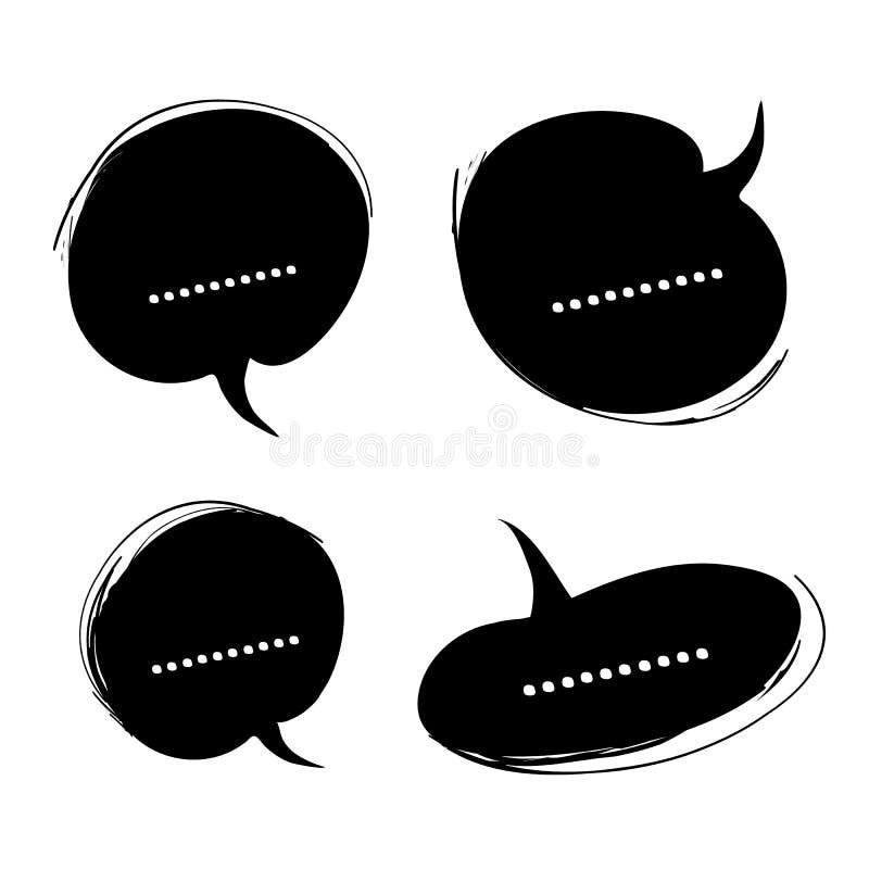 Vettore di conversazione dell'icona illustrazione vettoriale