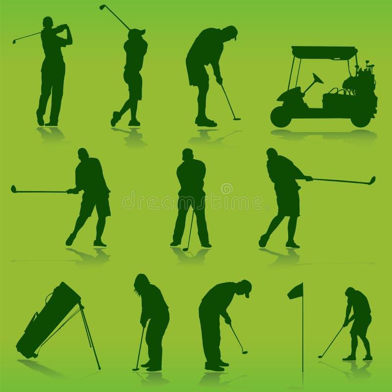 Vettore di golf royalty illustrazione gratis