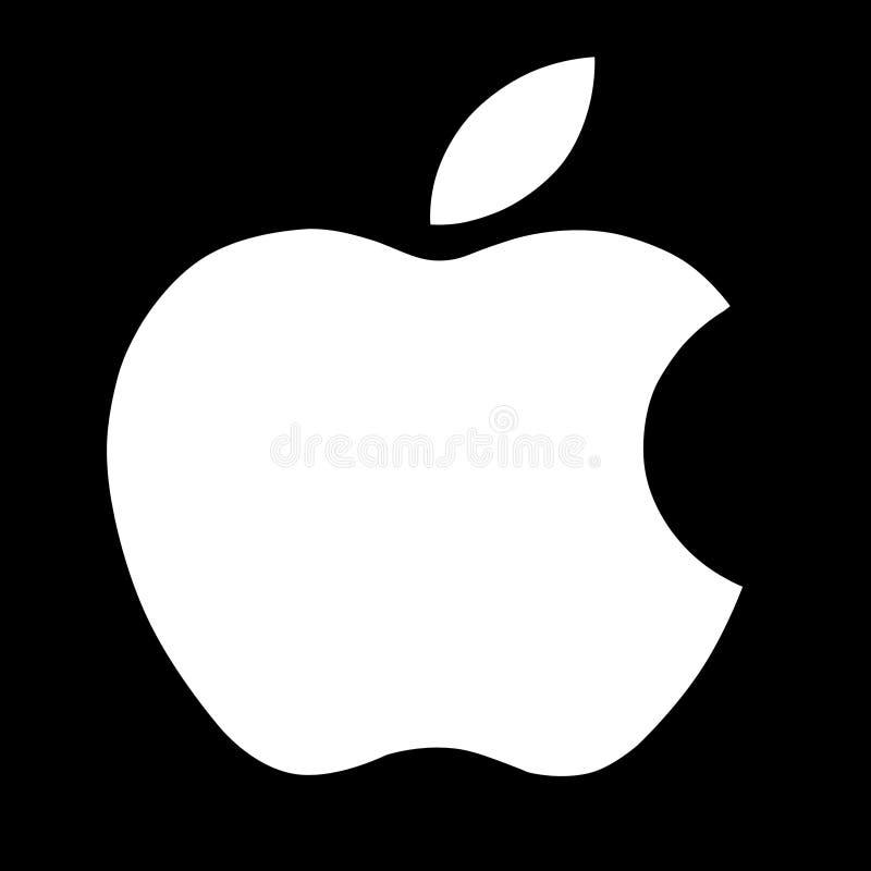 Vettore di logo di Apple fotografie stock