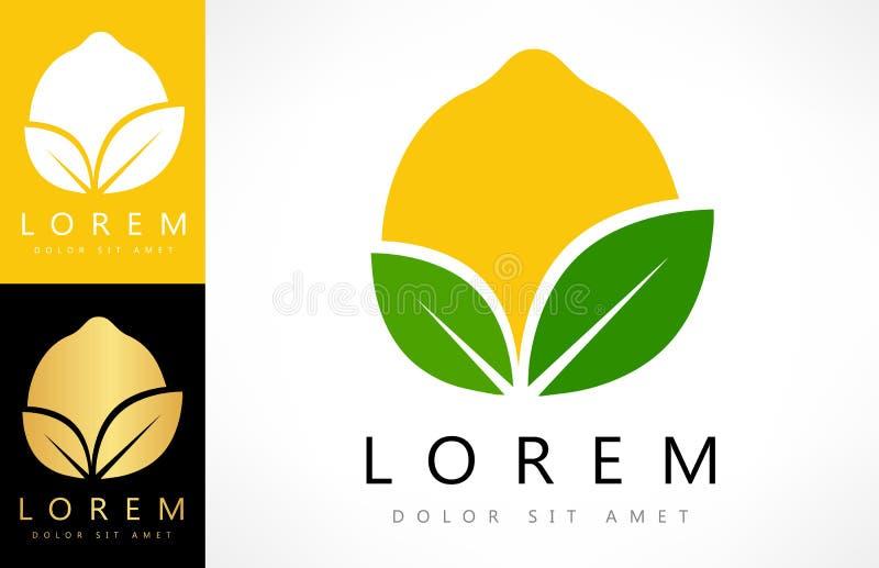 Vettore di logo del limone illustrazione vettoriale