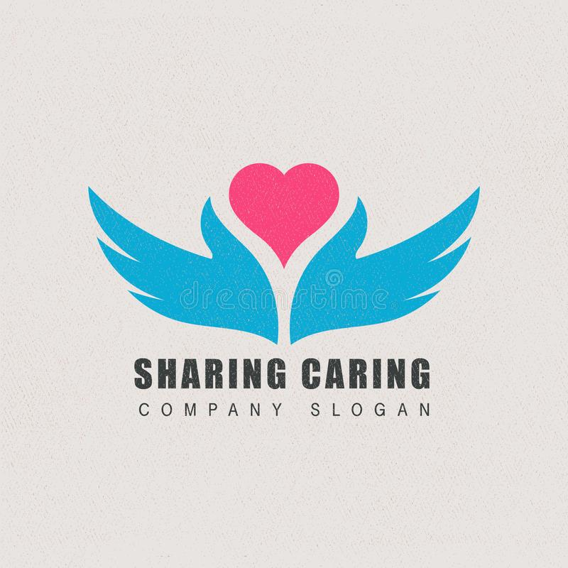 Vettore di logo del modello di affari per la società fotografia stock