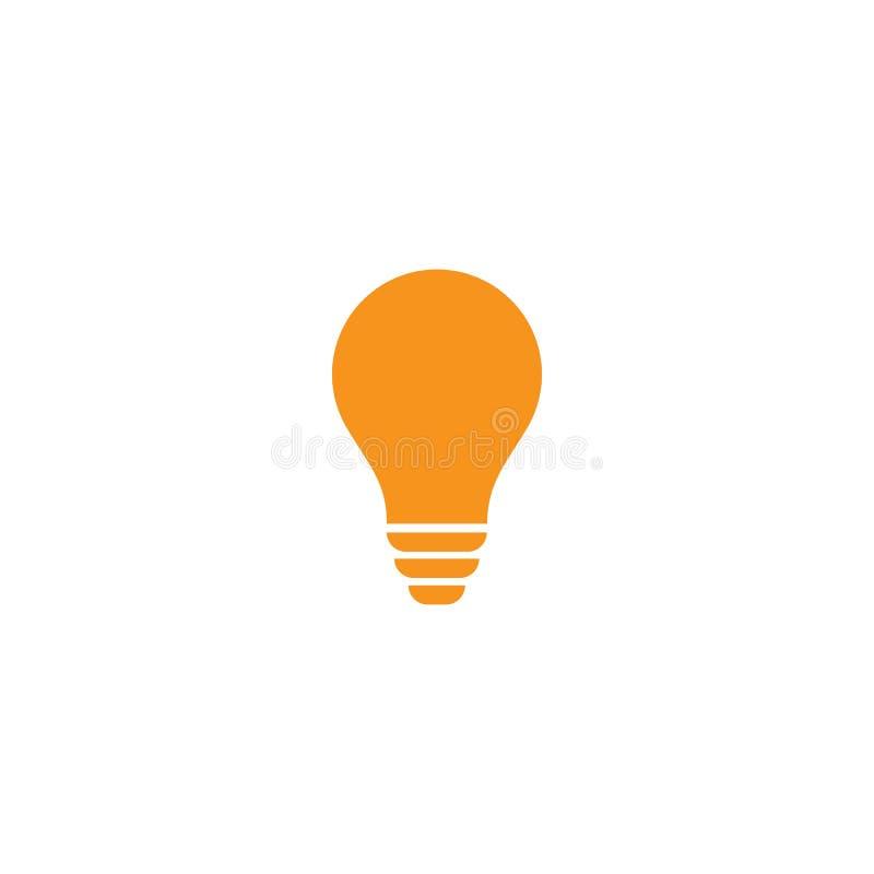 vettore di logo della lampadina illustrazione vettoriale