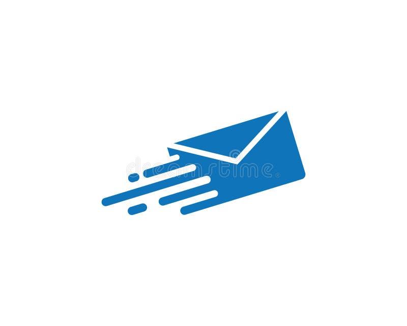 Vettore di logo della posta illustrazione vettoriale