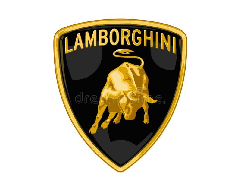 Vettore di logo di Lamborghini illustrazione di stock