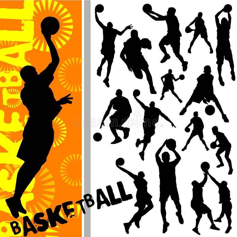 Vettore di pallacanestro royalty illustrazione gratis