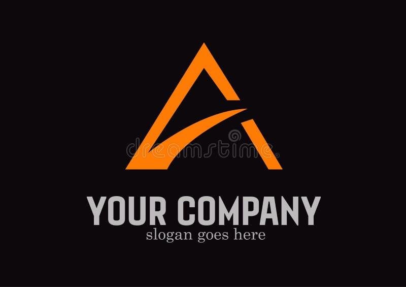 Vettore di progettazione di logo del bene immobile illustrazione di stock