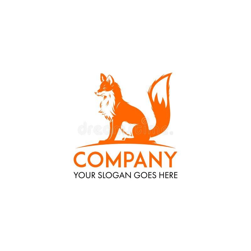 Vettore di progettazione di logo del lupo illustrazione vettoriale