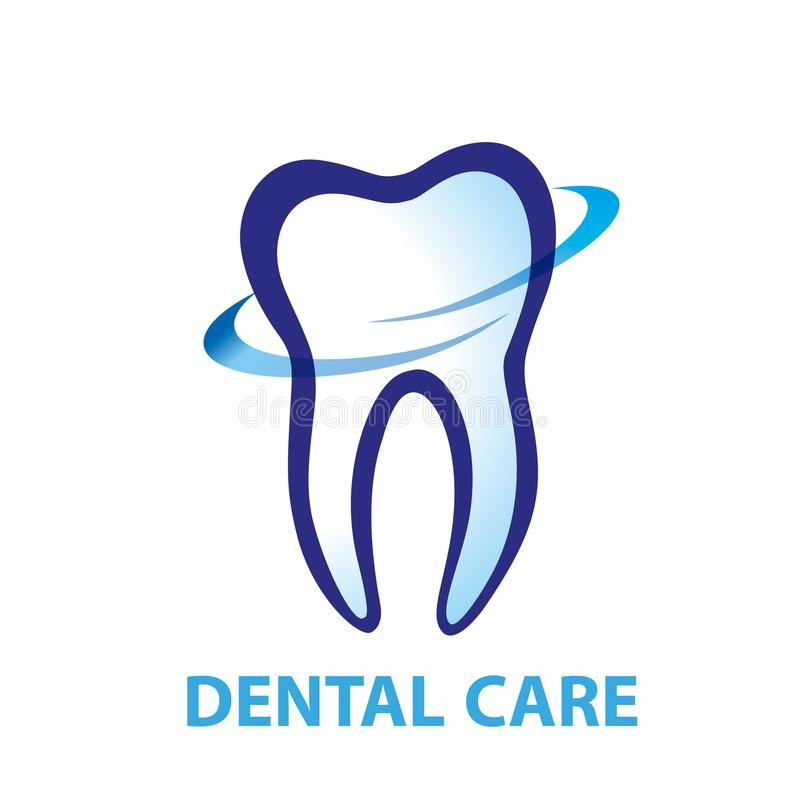 Vettore di progettazione di logo dell'ammaccatura di salute Odontoiatria dentaria cosmetica Denta royalty illustrazione gratis