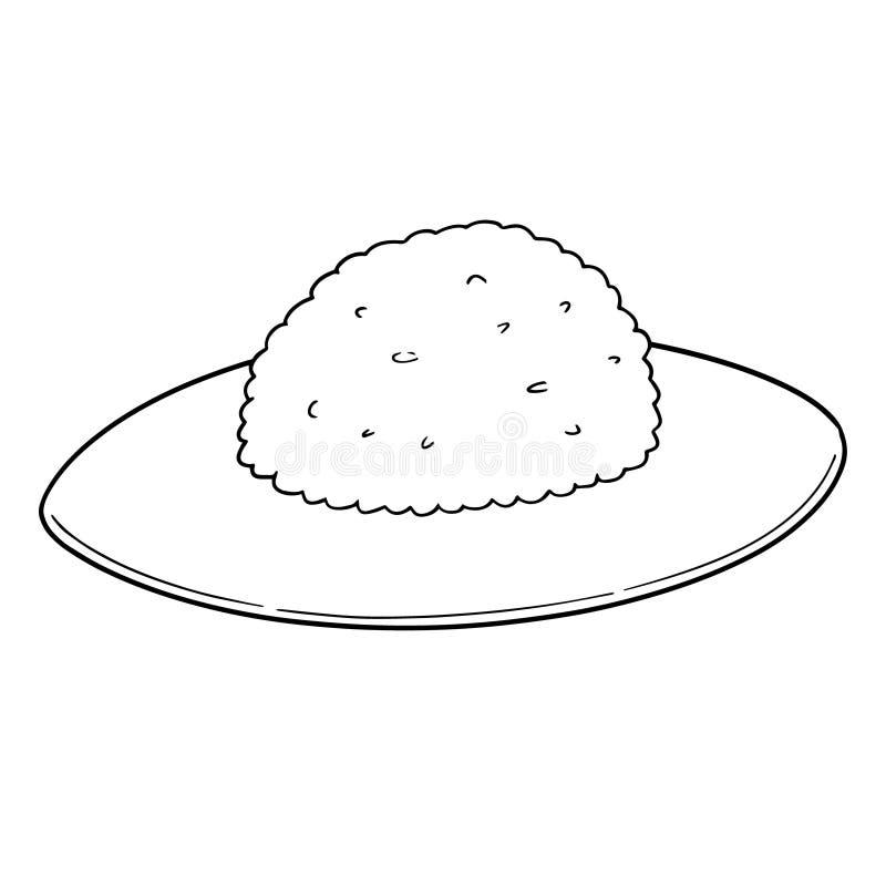 Vettore di riso illustrazione vettoriale