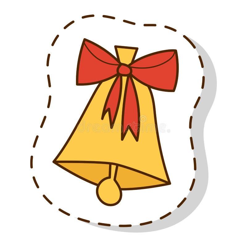 Vettore di simboli dell'icona di Natale royalty illustrazione gratis