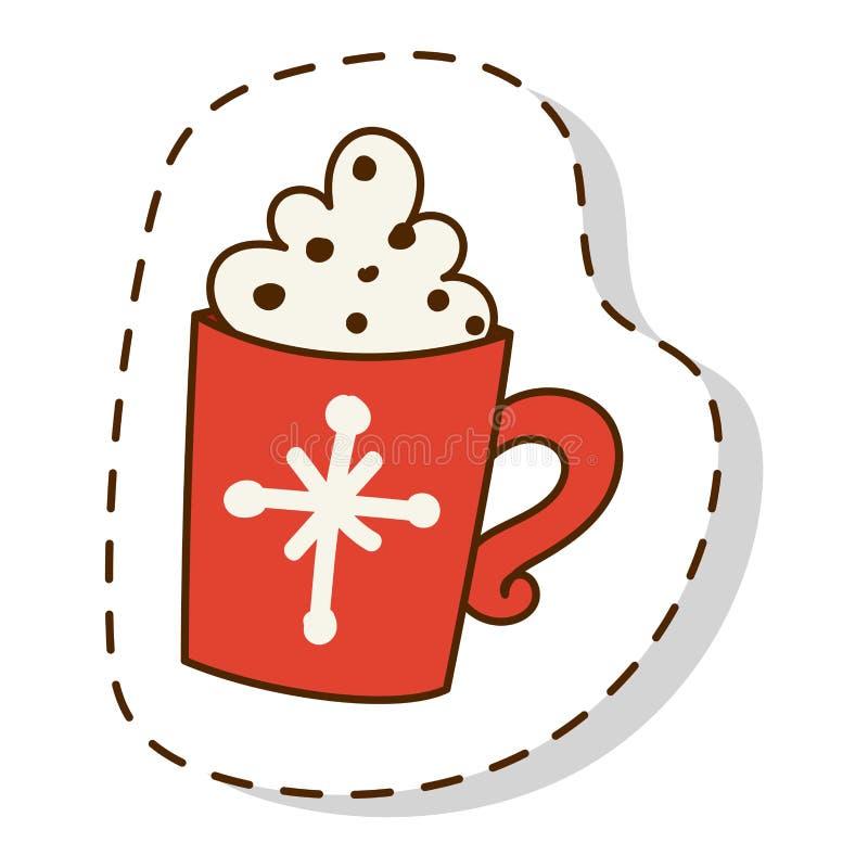 Vettore di simboli dell'icona di Natale illustrazione di stock