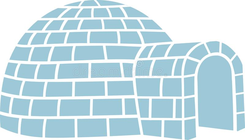 Vettore di simbolo dell'iglù royalty illustrazione gratis