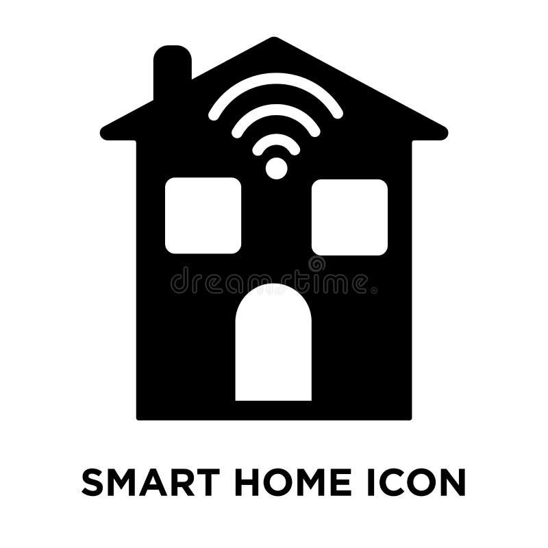 Vettore domestico astuto dell'icona isolato su fondo bianco, concep di logo illustrazione vettoriale