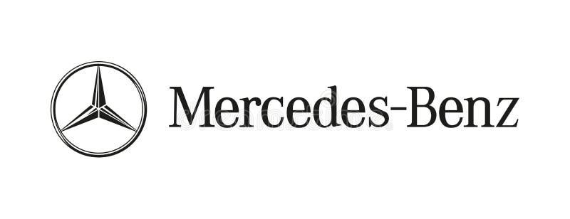 Vettore editoriale del logos dell'automobile illustrazione vettoriale