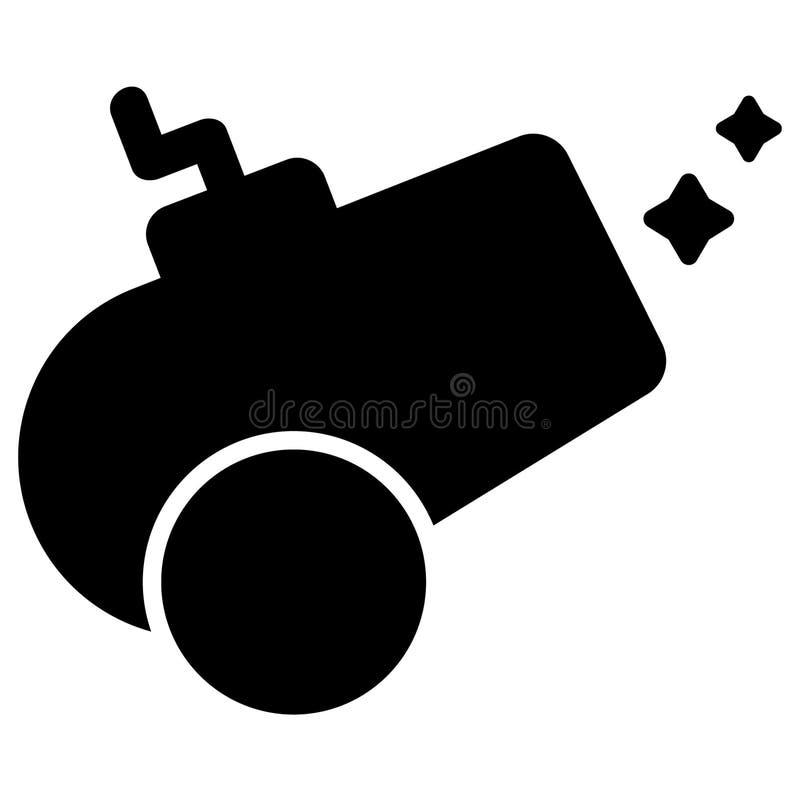 Vettore ENV disegnato a mano, vettore, ENV, logo, icona, crafteroks, illustrazione del cannone della siluetta per gli usi differe illustrazione di stock