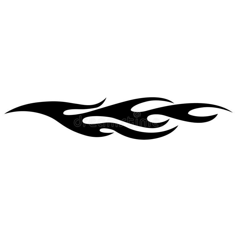 Vettore ENV disegnato a mano, vettore, ENV, logo, icona, crafteroks, illustrazione della fiamma della siluetta per gli usi differ illustrazione vettoriale