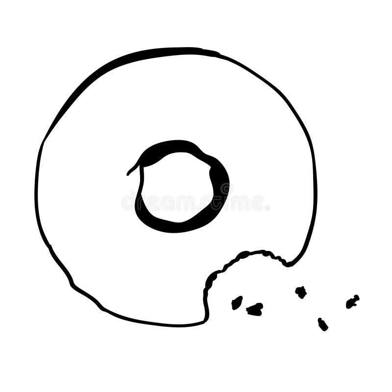 Vettore ENV disegnato a mano, vettore, ENV, logo, icona, crafteroks, illustrazione delle guarnizioni di gomma piuma della siluett illustrazione vettoriale