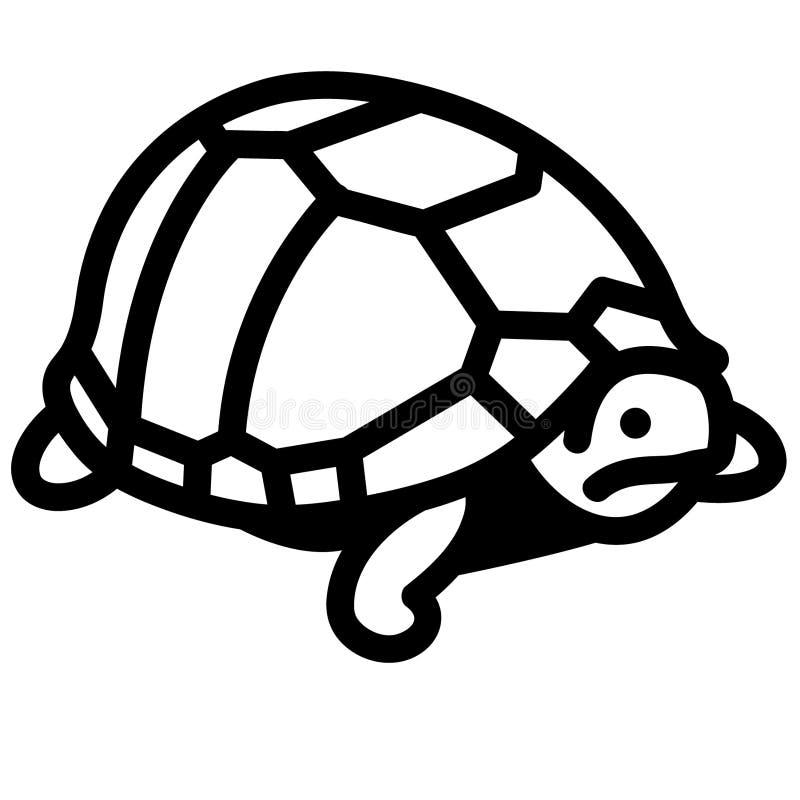 Vettore ENV disegnato a mano, vettore, ENV, logo, icona, illustrazione della tartaruga della siluetta dai crafteroks per gli usi  illustrazione vettoriale