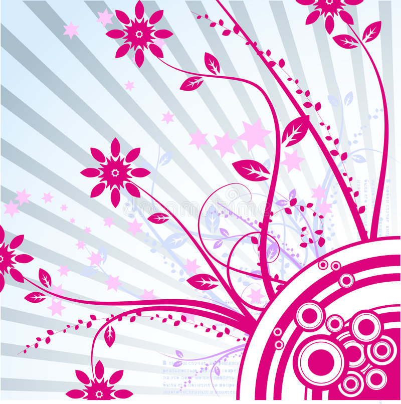 Vettore floreale illustrazione vettoriale