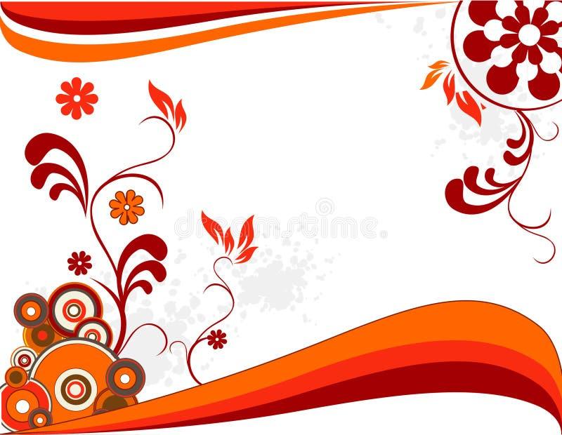 Vettore floreale illustrazione di stock