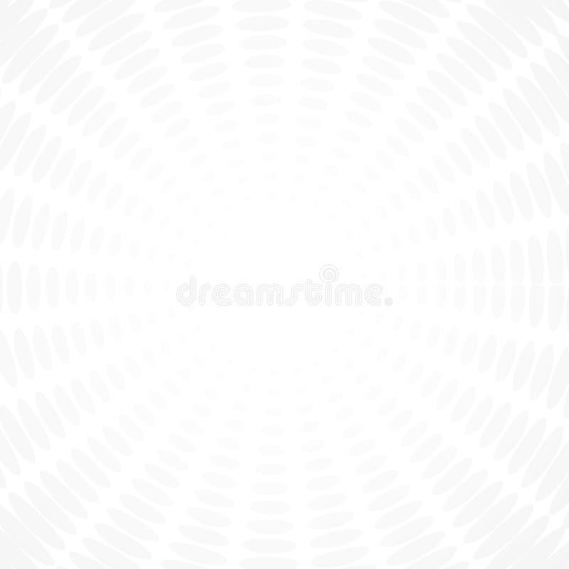 Vettore geometrico bianco e grigio del fondo astratto di tecnologia di progettazione moderna del fondo royalty illustrazione gratis