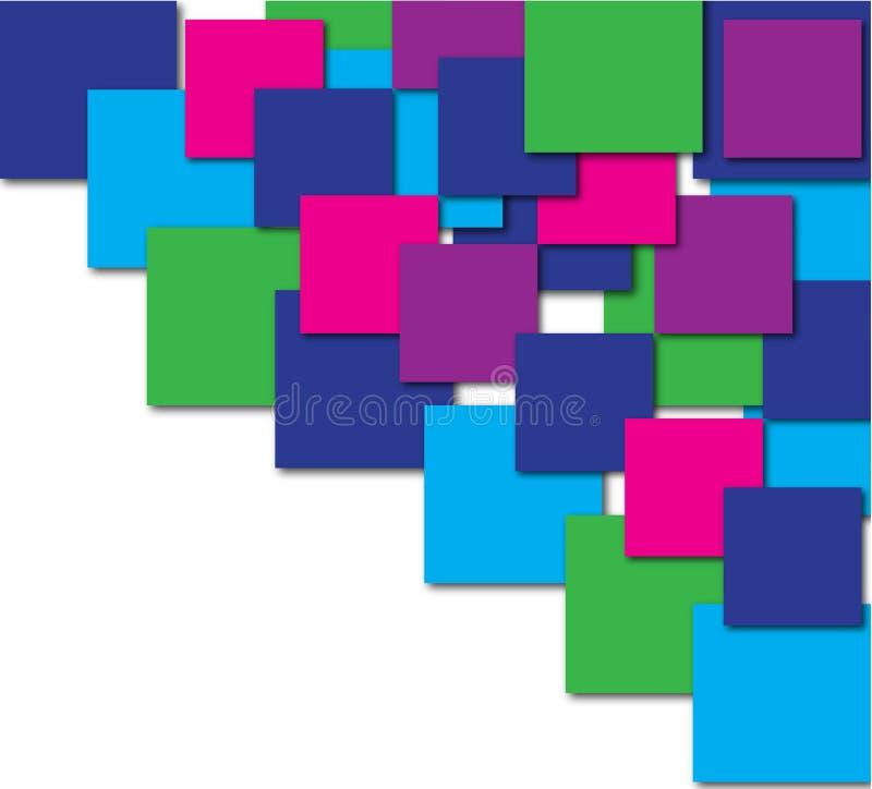 Vettore geometrico del fondo dell'estratto variopinto professionale di colore illustrazione di stock
