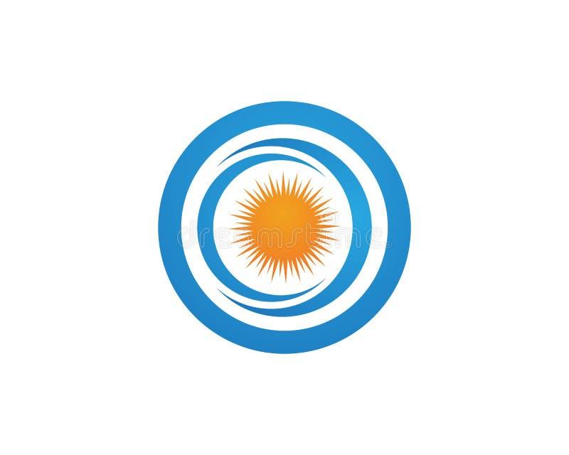 Vettore - icona della stella di esplosione solare illustrazione vettoriale