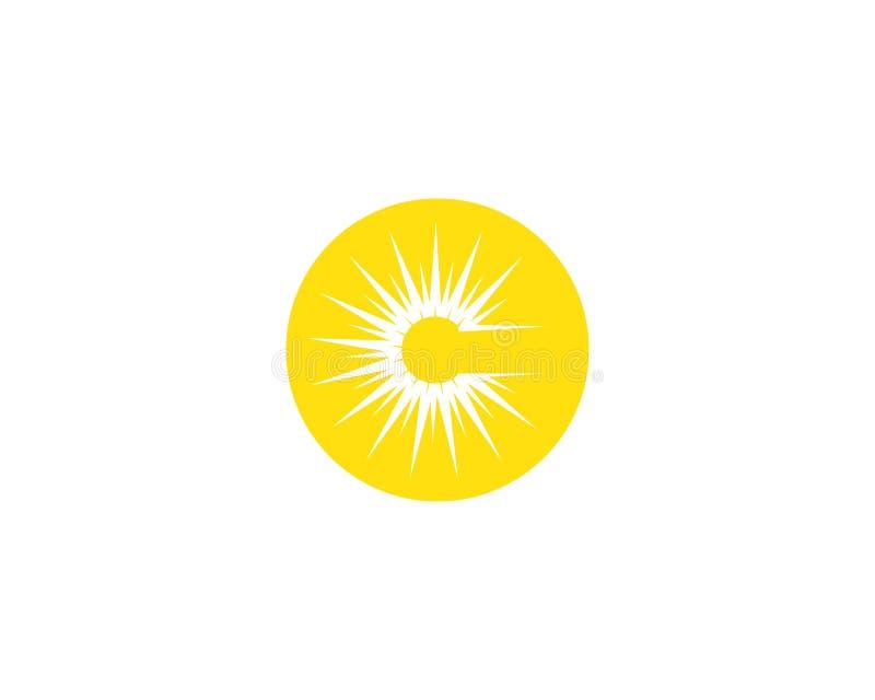 Vettore - icona della stella di esplosione solare royalty illustrazione gratis