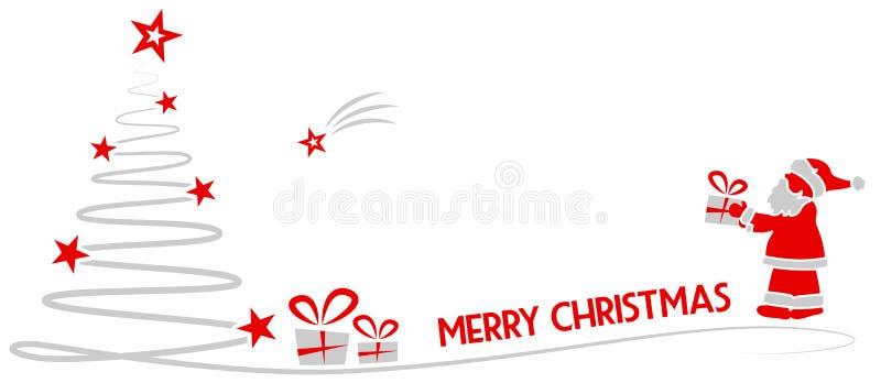 Vettore isolato disegno di vettore di Buon Natale illustrazione di stock