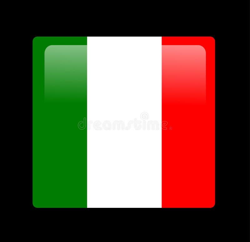 Vettore italiano della bandiera illustrazione vettoriale