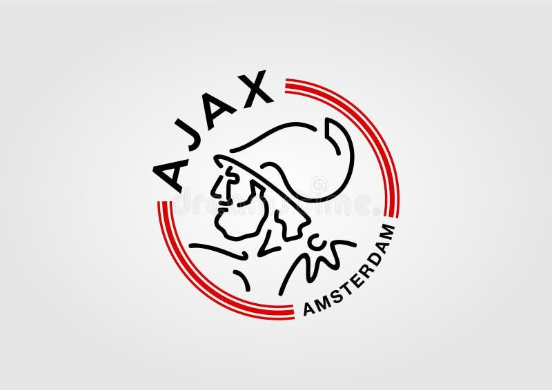 Vettore libero di Ajax Amsterdam royalty illustrazione gratis