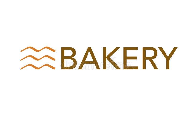 Vettore - logo moderno del forno, isolato su fondo bianco Illustrazione di vettore illustrazione di stock