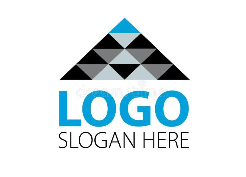 Vettore - logo moderno della società di affari di finanza, isolato su fondo bianco Illustrazione di vettore illustrazione vettoriale
