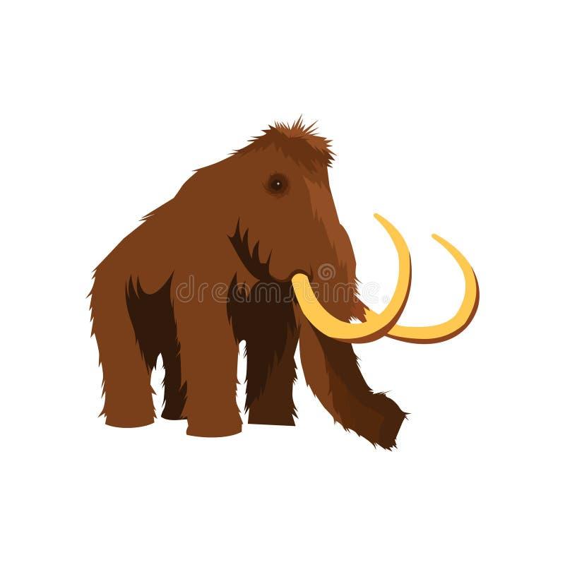 Vettore mastodontico di Ilustration fotografia stock libera da diritti