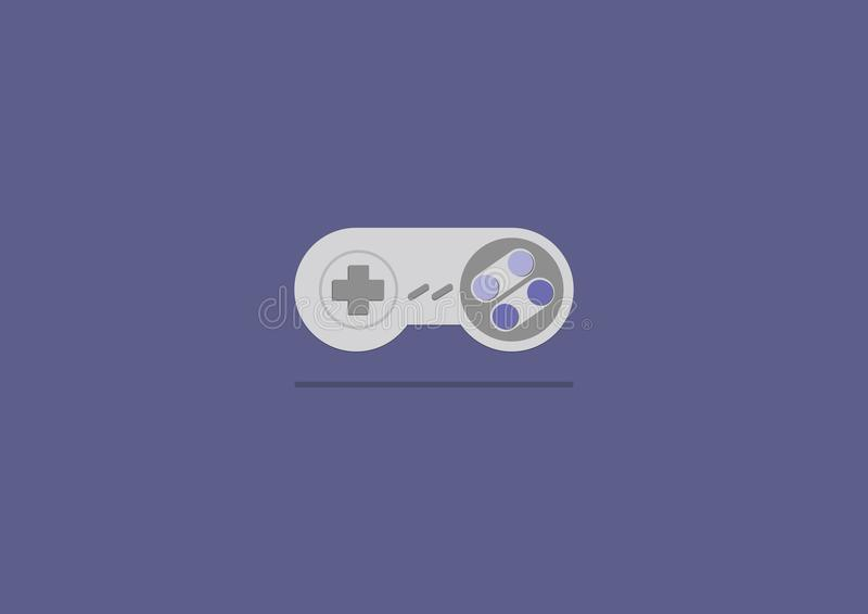 Vettore piano di progettazione dei giochi della leva di comando immagini stock