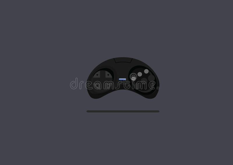 Vettore piano di progettazione dei giochi della leva di comando fotografie stock