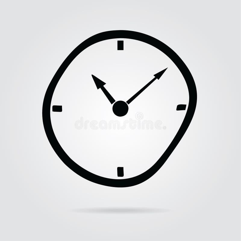 vettore piano di riserva icon-05 di tempo di stile di progettazione illustrazione di stock