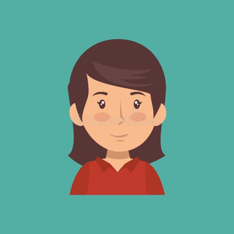 Vettore professionale del carattere dell'avatar della costruzione royalty illustrazione gratis