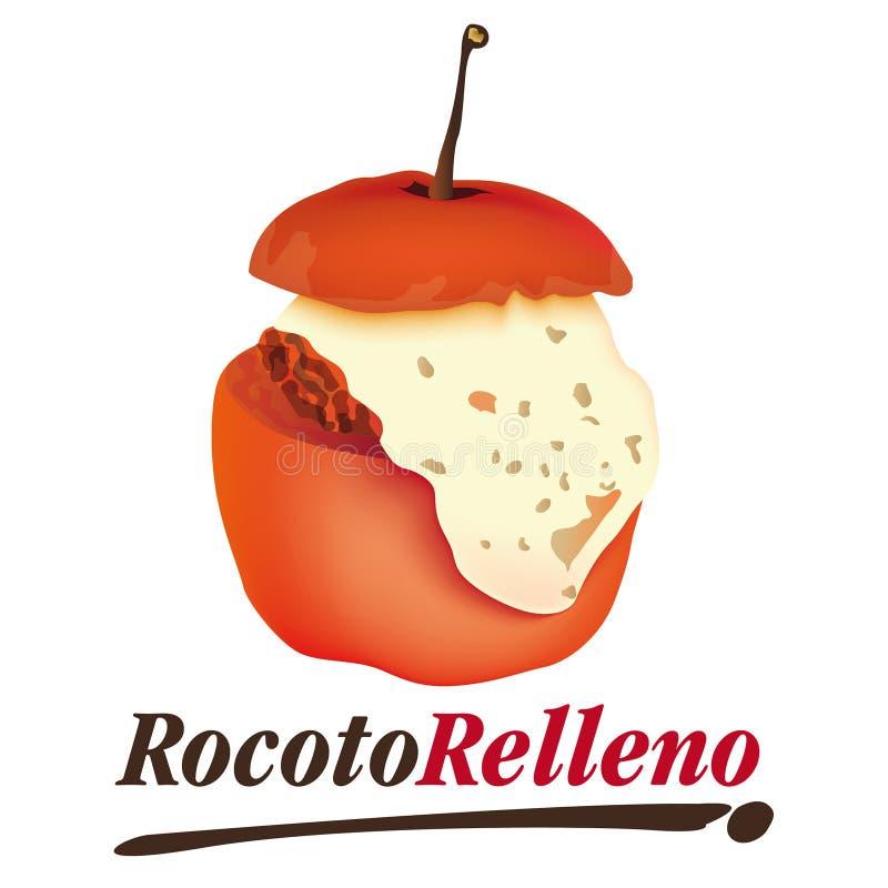 Vettore - relleno di Rocoto fotografie stock libere da diritti
