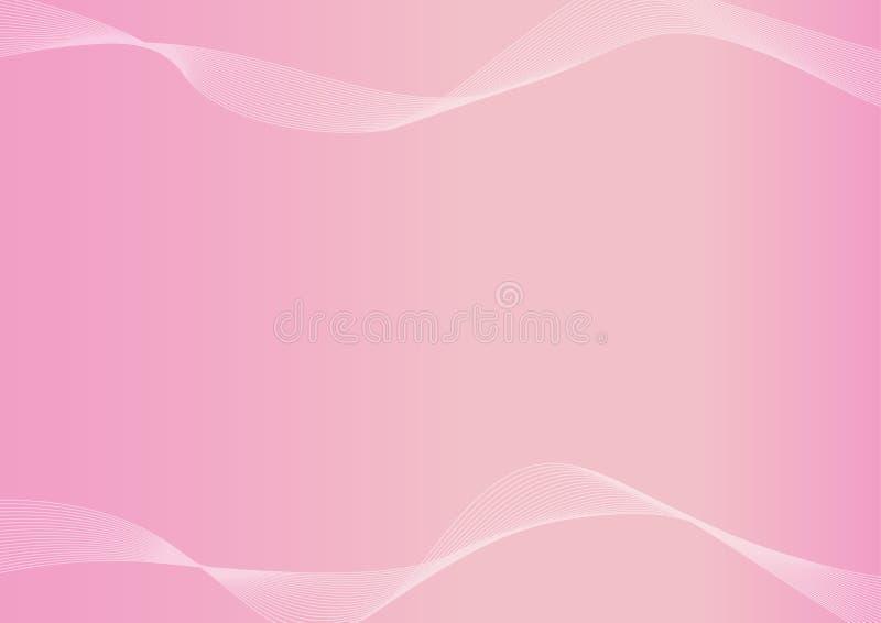 Vettore rosa-chiaro, rosa astratto del fondo fotografia stock libera da diritti