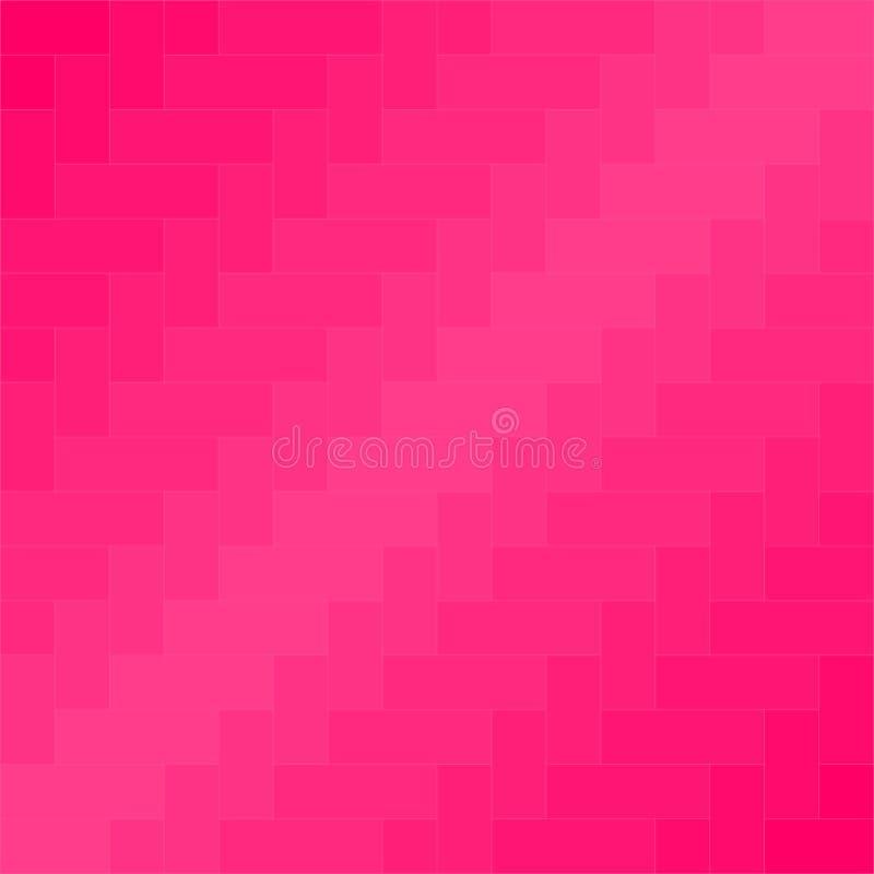 Vettore rosa del fondo del modello del tessuto illustrazione di stock