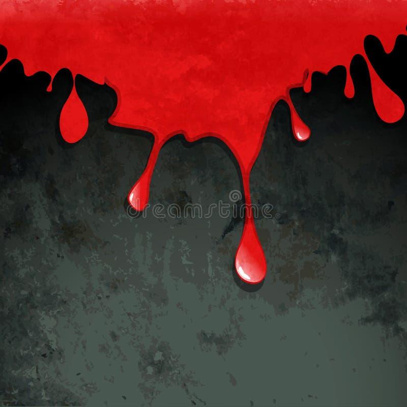 Vettore rosso di anima illustrazione di stock