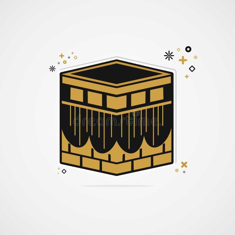 Vettore semplice del kabah illustrazione di stock
