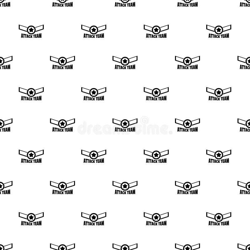 Vettore senza cuciture del modello del gruppo della stella di attacco royalty illustrazione gratis
