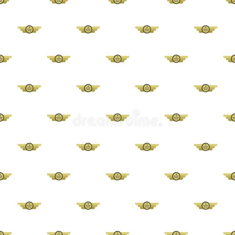 Vettore senza cuciture del modello militare della pattuglia illustrazione vettoriale